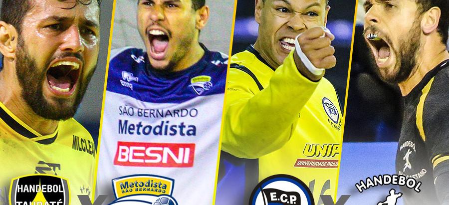 Taubaté busca classificar em casa e Pinheiros e São Caetano também jogam pelas semifinais