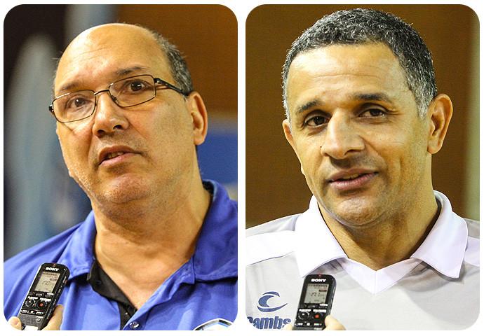 Hortelan, técnico do EC Pinheiros e SB, técnico da Metodista. (arte Tchê Esportes)