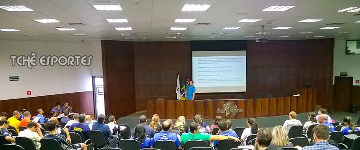 Reunião da Liga Paulistana de Handebol (foto: André Pereira / Tchê Esportes)
