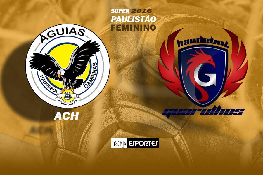 ACH 28x32 Guarulhos. (arte Tchê Esportes)