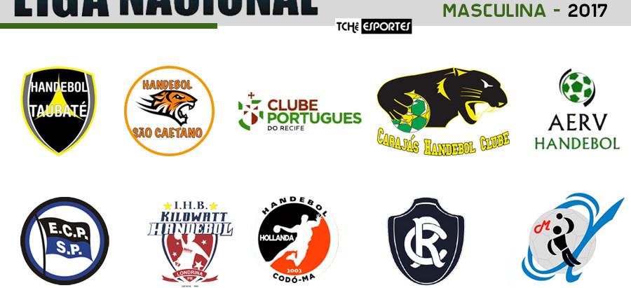 Definidos os grupos da segunda fase da Liga Nacional Masculina de Handebol