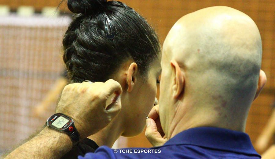 Aldo Sposte cuida de tudo. (foto André Pereira / Tchê Esportes)