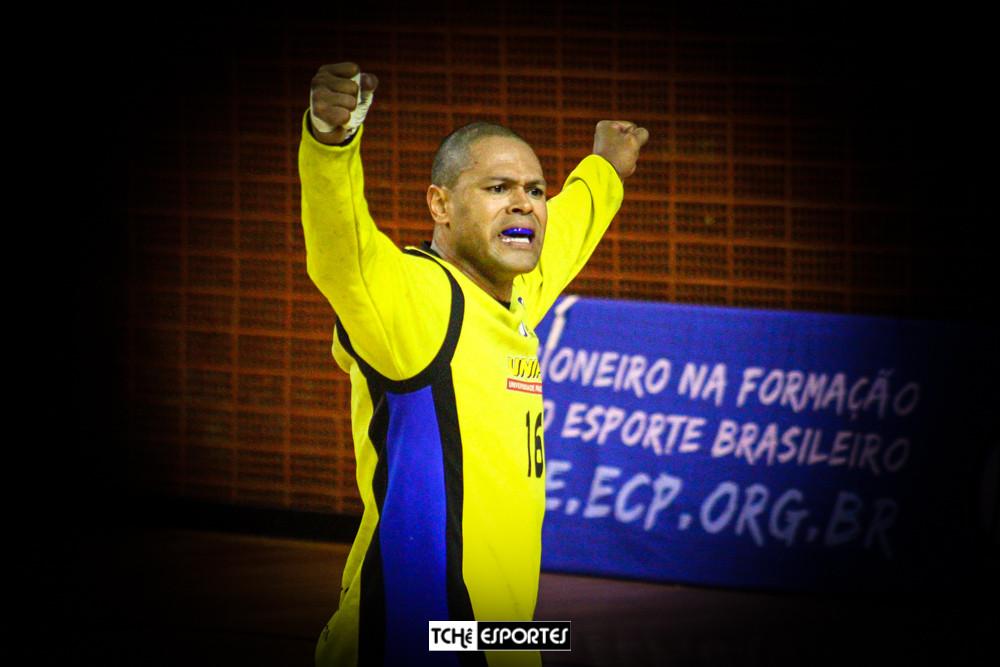 Marcão, goleiro do EC Pinheiros. (arquivo Tchê Esportes)