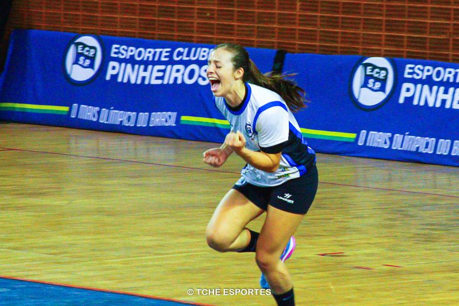 Isabelle Medeiros, EC Pinheiros. (foto André Pereira / Tchê Esportes)