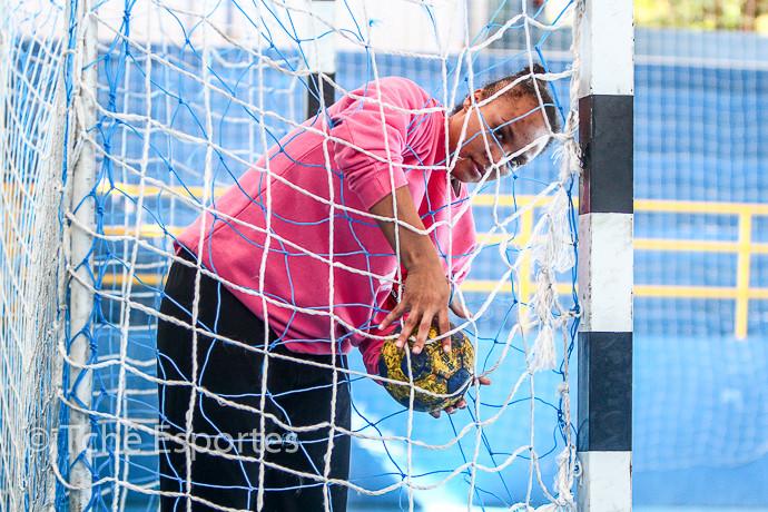 Goleira Priscila deixa a equipe em 2015 (foto arquivo Tchê Esportes)