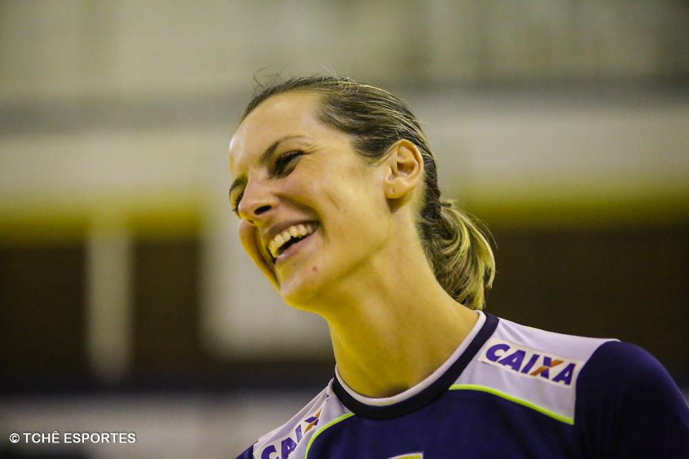 Célia Coppi, Metodista. (foto André Pereira / Tchê Esportes)
