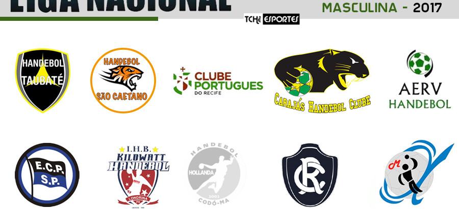 Quartas de final da Liga Nacional Masculina de Handebol tem sequência neste sábado (2)
