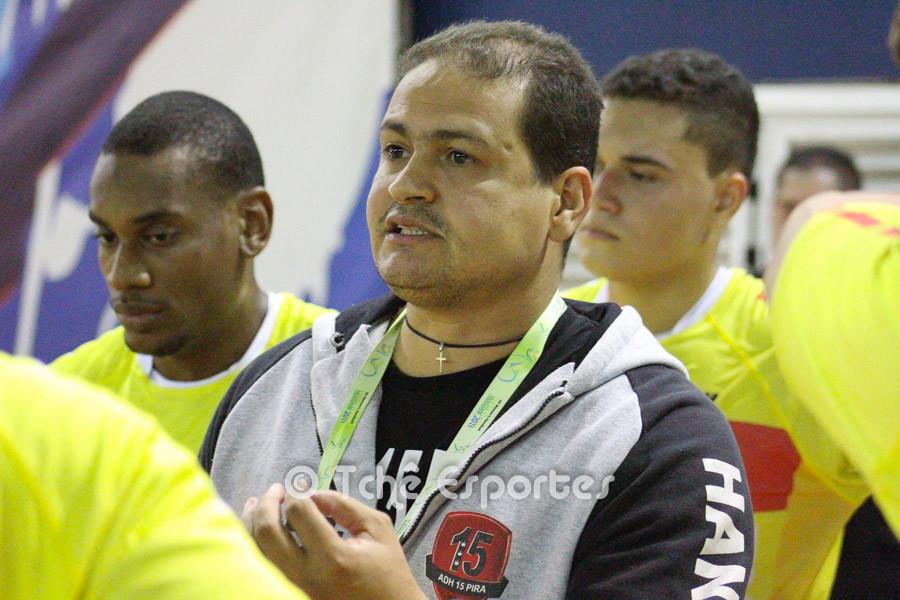 José Batista, técnico do 15 de Piracicaba (foto André Pereira / Tchê Esportes)