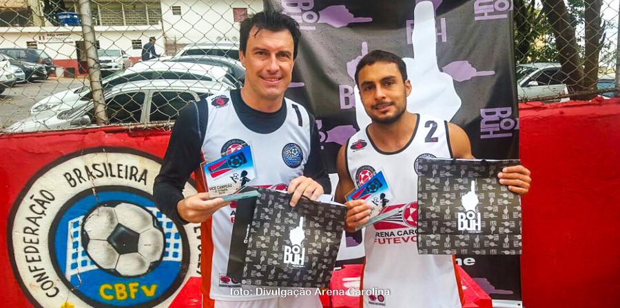 Paulinho e Laerte, 2º lugar - 2ª etapa. (foto Andréa Rodrigues / Tchê Esportes)