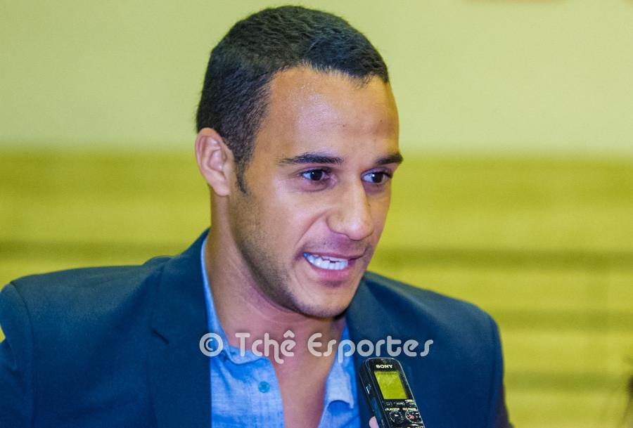 Daniel Estevam, diretor comercial da Sand Walk. (foto André Pereira / Tchê Esportes)