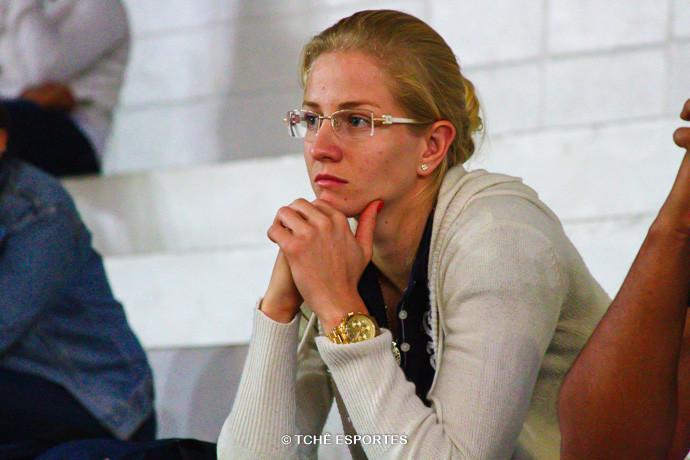 Patricia Scheppa, atleta. (foto André Pereira / Tchê Esportes)