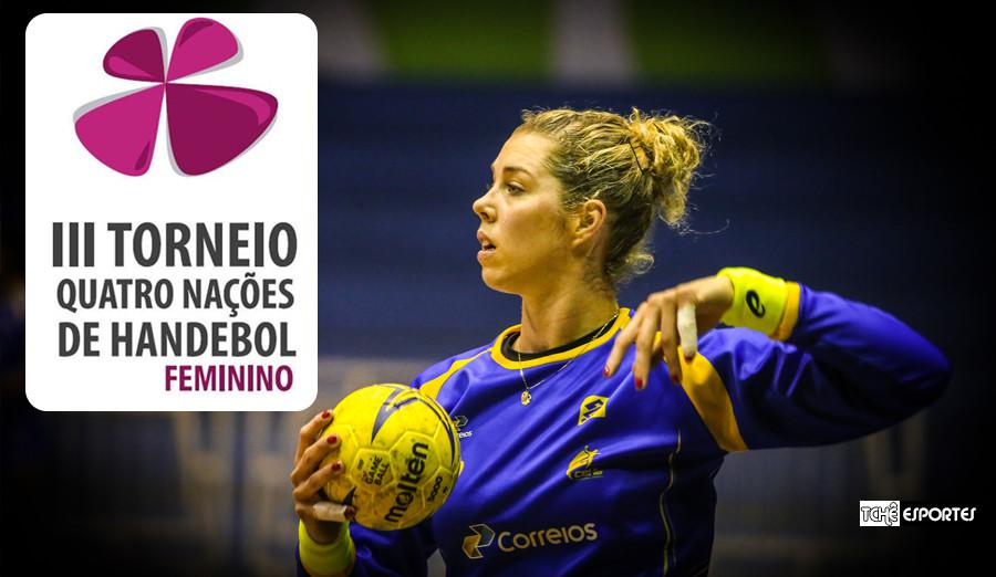 Bárbara Arenhart, goleira do  Vaci NKSE-Hungria e da Seleção Brasileira. (foto arquivo Tchê Esportes))