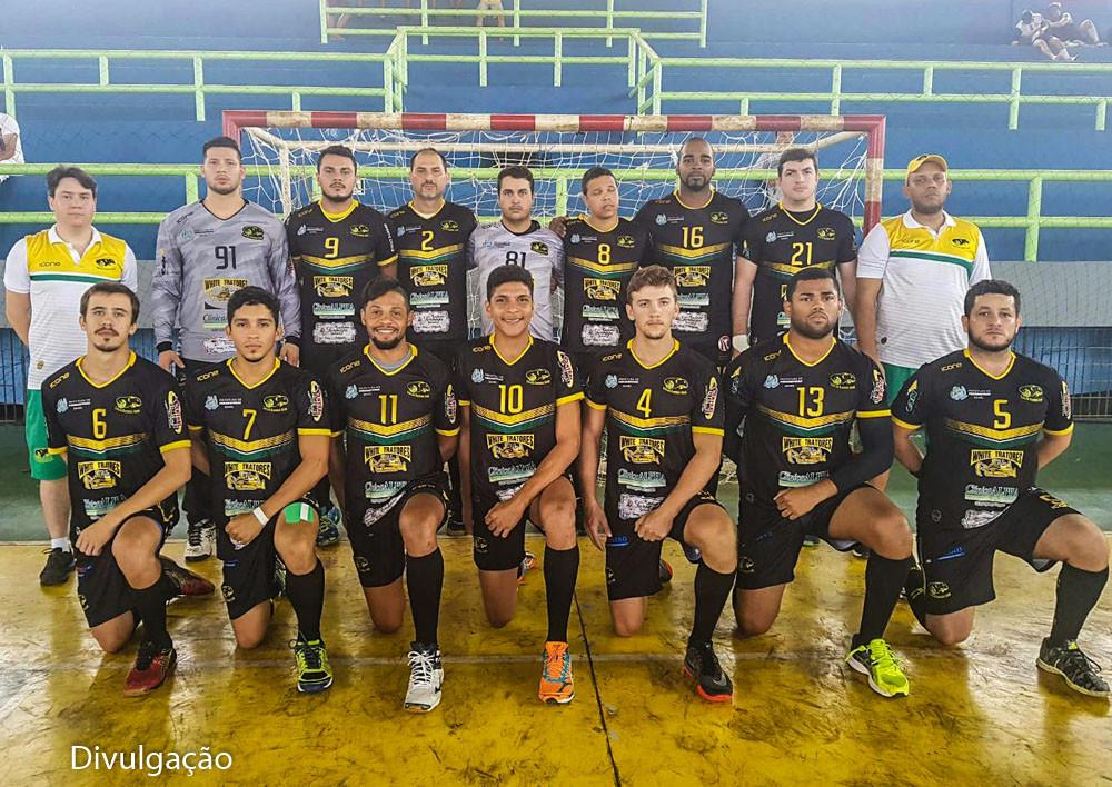 Equipe do Carajás Handebol Clube (PA), Campeão Paraense 2017. (foto Divulgação(