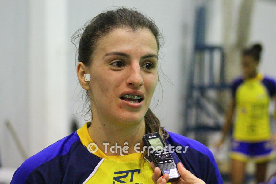 Jessica Dias, São José. (foto André Pereira / Tchê Esportes)