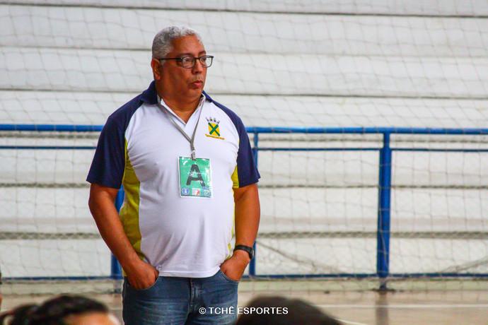 Rubens Piazza, técnico do Santo André. (foto André Pereira / Tchê Esportes)