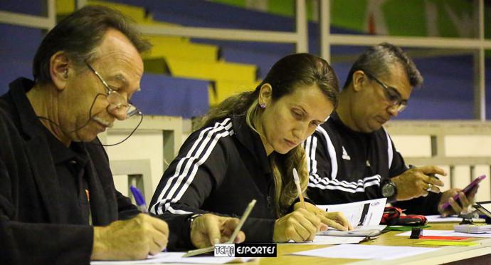 João Gomes, Nathália Hupsel e Marcelo Barcellos. (foto André Pereira / Tchê Esportes)