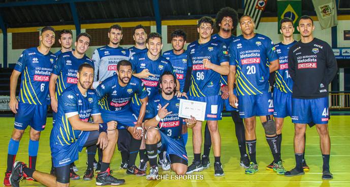 Equipe da Metodista. (foto André Pereira / Tchê Esportes)