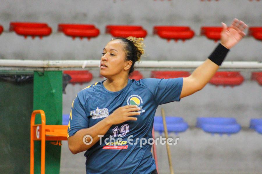Ananda, CEPE/Santos, é desfalque para o jogo. (foto arquivo Tchê Esportes)