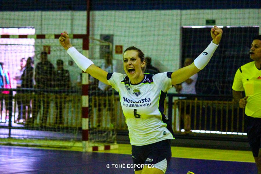 Artilheira – Celia Costa, Metodista, com 9 gols. Foto: André Pereira / Tchê Esportes