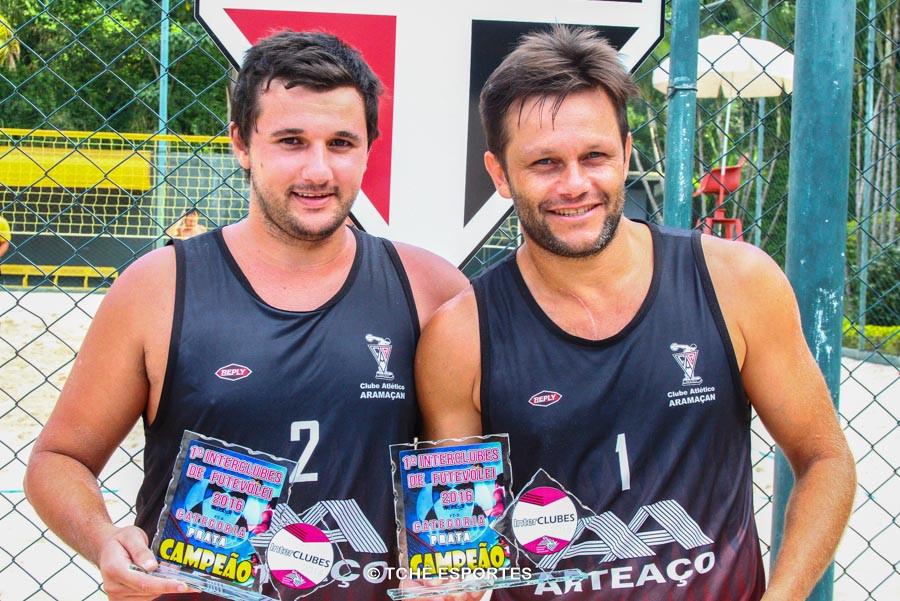 Pedrinho e Rodrigo Fabri. 1º lugar Prata. (foto André Pereira / Tchê Esportes)