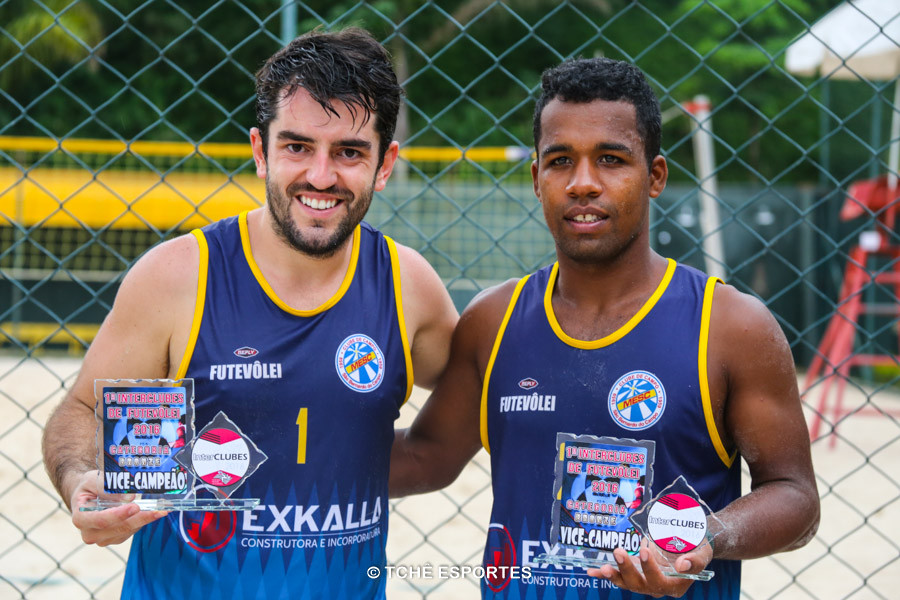 Leo e Thiago, 2º lugar Prata. (foto André Pereira / Tchê Esportes)
