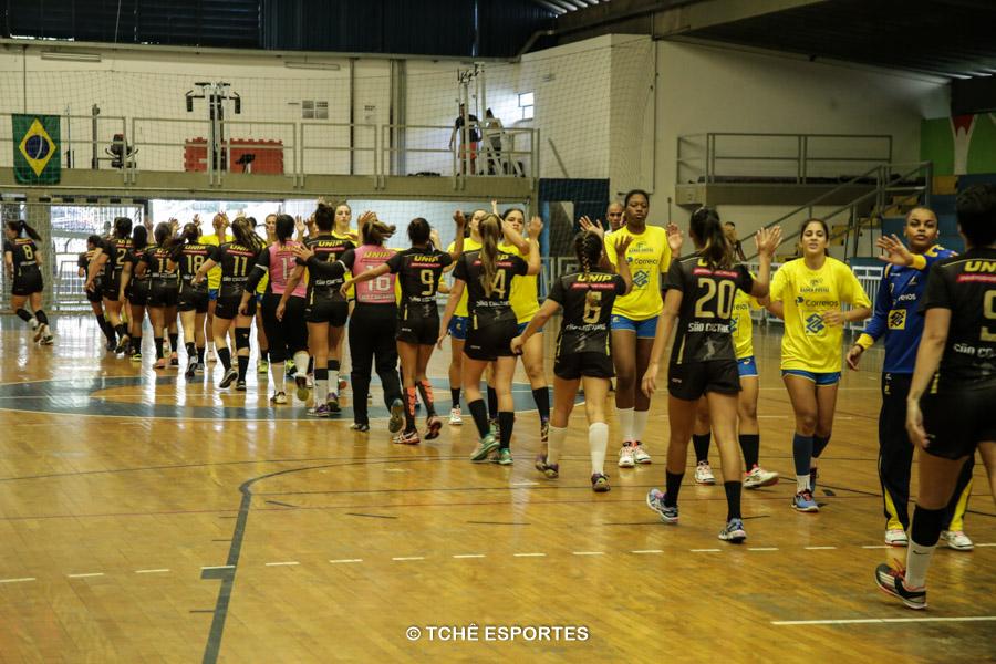Jogo-treino Handebol São Caetano vs Seleção Junior