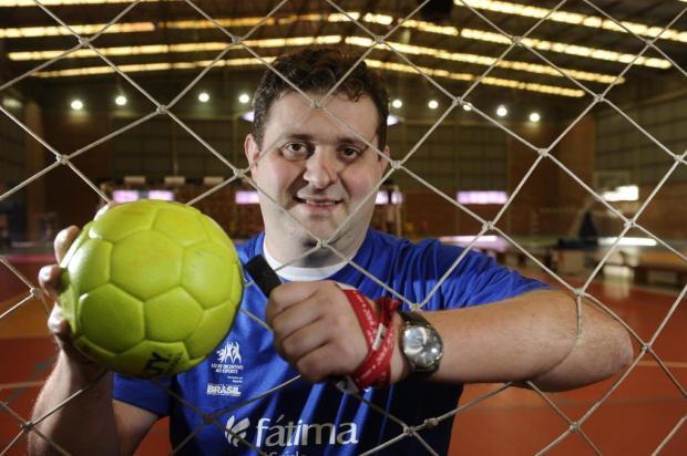 Gabriel Citton, técnico da Apahand/UCS. (foto: Porthus Junior / Agencia RBS