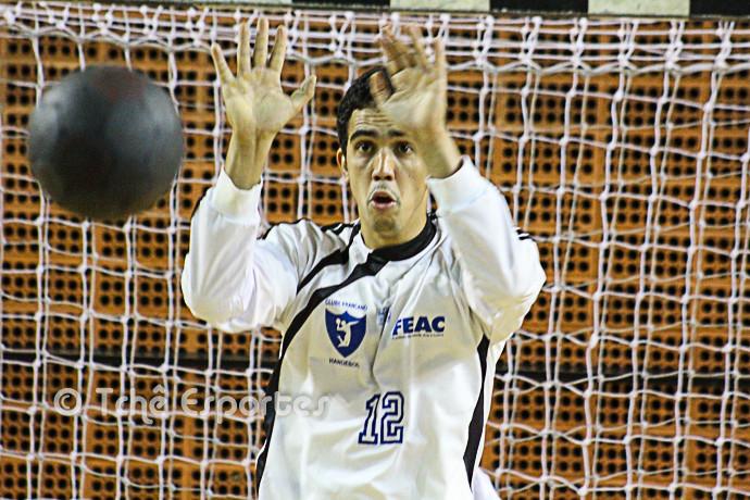 Goleiro Adriano, Franca (foto arquivo Tchê Esportes)