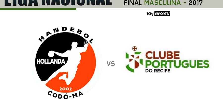 GHC (MA) e Português (PE) decidem Conferência Nordeste da Liga de Handebol Masculina