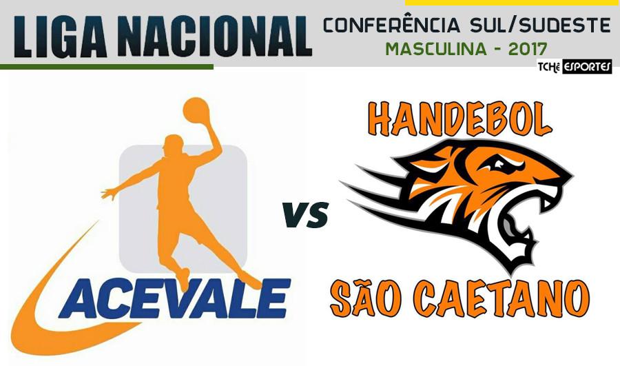 Acevale(MG) vs São Caetano(SP) - Liga Nacional - Conferência Sul/Sudeste (foto André Pereira / Tchê Esportes)