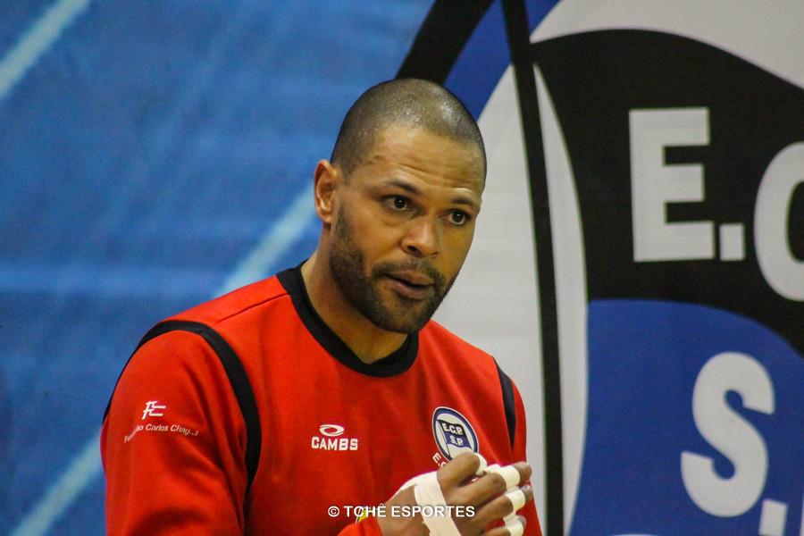 Marcão, goleiro do EC Pinheiros. (foto André Pereira / Tchê Esportes)