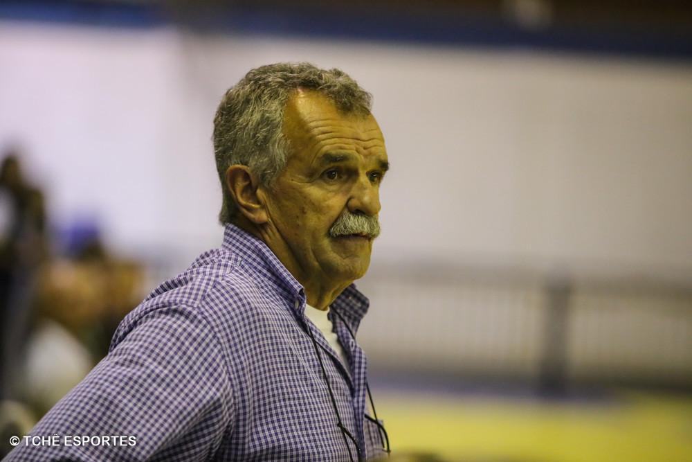 Roberto de Lima Rosa, Delegado da partida. (foto André Pereira / Tchê Esportes)