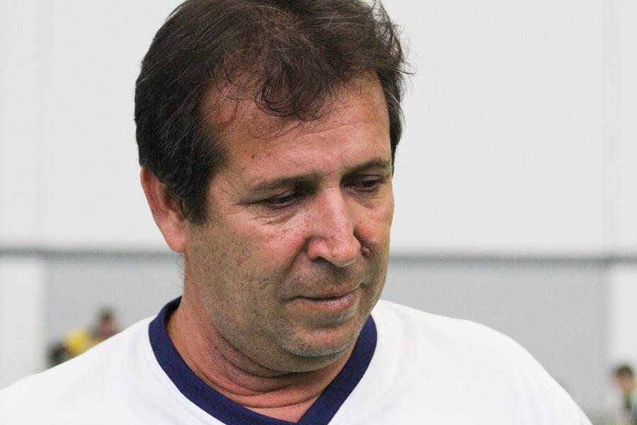 Valdir Barbosa, técnico do São Carlos. (foto arquivo Tchê Esportes)