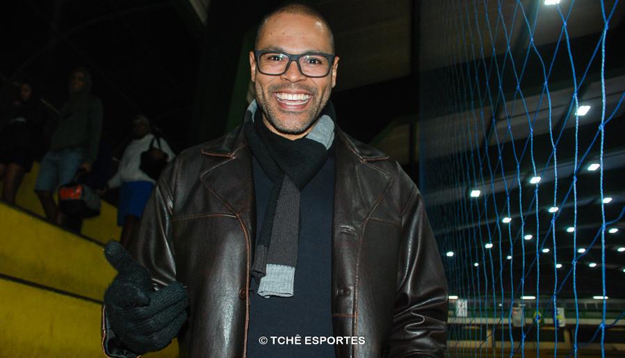 Marcão, goleiro do EC Pinheiros. (foto Anderson Pereira / Tchê Esportes)