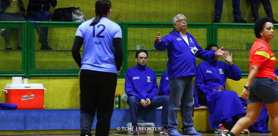 Rubenz Piazza, técnico do Santo André. (foto Andréa Rodrigues / Tchê Esportes)