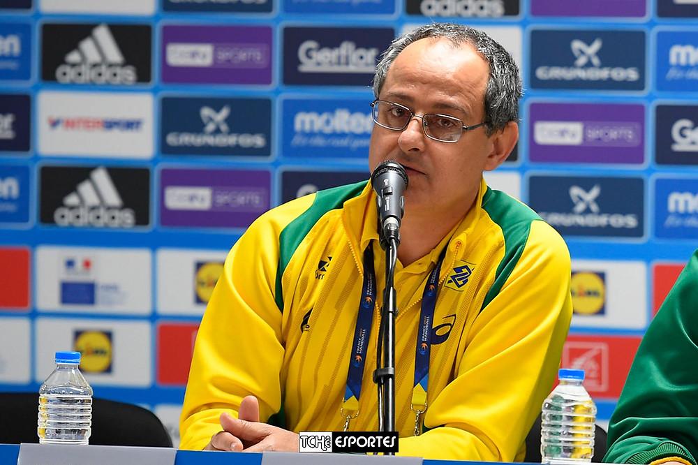 Washington Nunes, técnico da Seleção Brasileira. (foto Divulgação)
