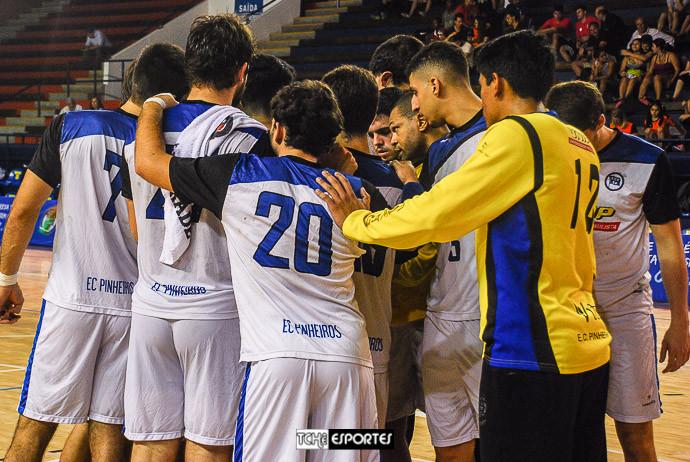 Equipe do Pinheiros (foto arquivo Tchê Esportes)