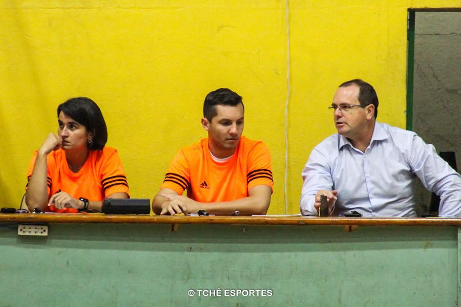 Delegado da FPHand: Rogério Fiacadori. Foto: André Pereira / Tchê Esportes
