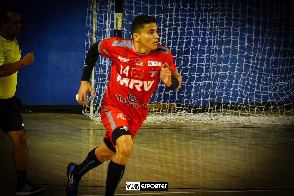 Matheus Novais, em Londrina em 2016. (foto arquivo Tchê Esportes)
