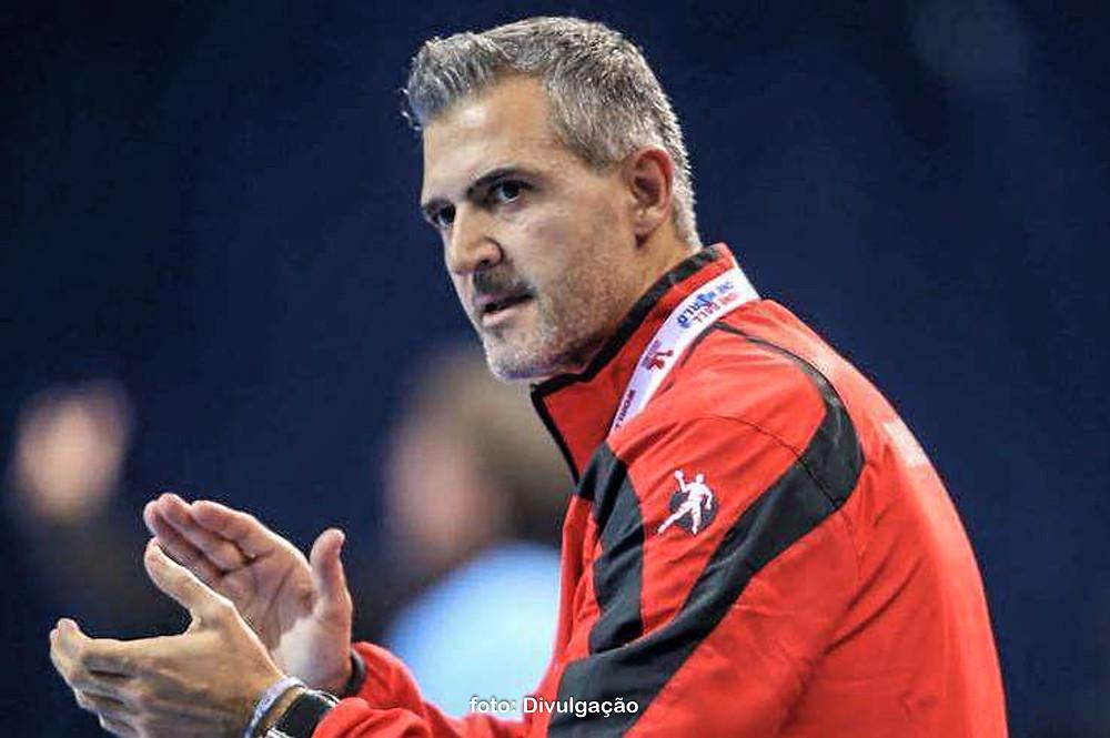 Paulo Pereira, técnico da seleção adulta masculina portuguesa. (foto Divulgação)