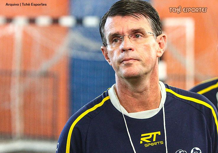 Marcio Volponi, Técnico do São José dos Campos (foto: arquivo Tchê Esportes)