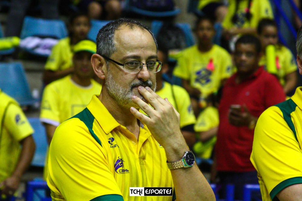 Washington Nunes, técnico da Seleção Brasileira Masculina de Handebol. (foto André Pereira / Tchê Esportes)