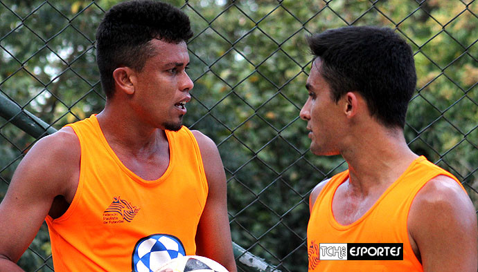 Bello e Vinícius voltaram. (foto arquivo / Tchê Esportes)