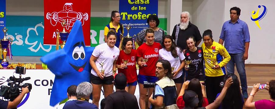 Seleçãodo Pan Feminino de Clubes 2017. (foto reprodução evento)