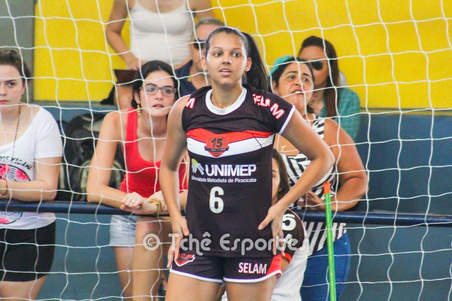 Jéssica Campos, 15 de Piracicaba. (foto arquivo Tchê Esportes)