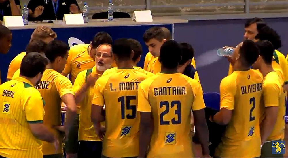 Brasil vs Argentina (arte Tchê Esportes)