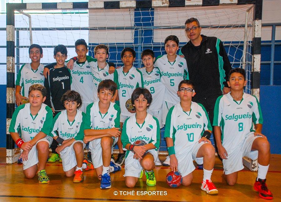 Campeão MIRIM / Colégio Salgueiro. (foto Andréa Rodrigues / Tchê Esportes)