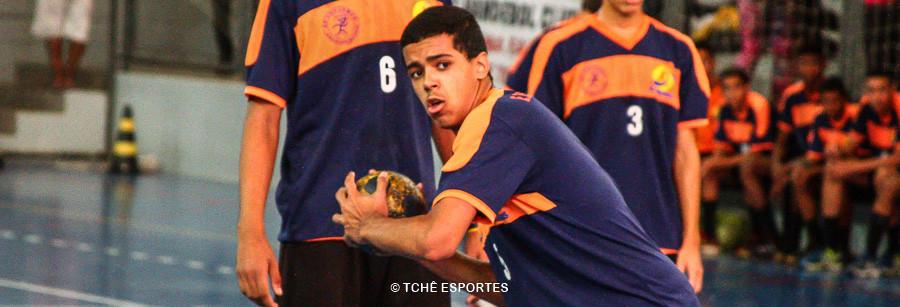 Mateus Silva, do Simonini, artilheiro do jogo final. (foto André Pereira / Tchê Esportes)