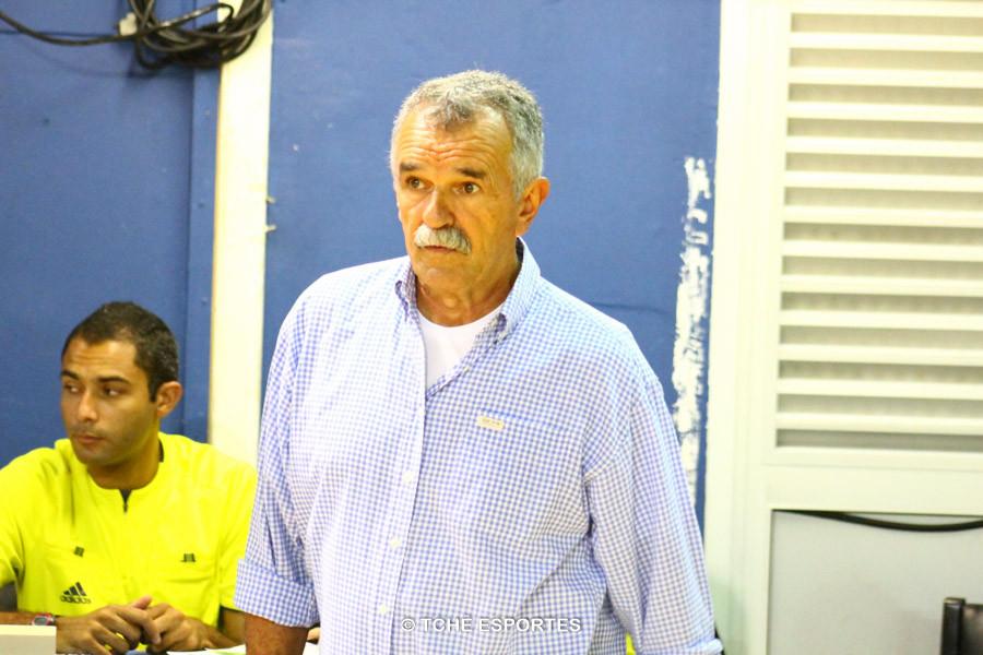 Delegado da FPHand: Roberto de Lima Rosa. Foto: André Pereira / Tchê Esportes