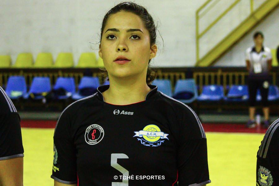 Stefanny Mattos, da ACH. (foto arquivo Tchê Esportes)